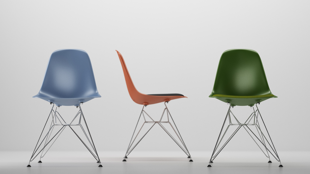Vitra Eames Plastic Side Chair Dsr N05 In M4d Vol5 Models4d