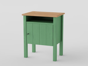 IKEA_Hurdal_Bedside table0000